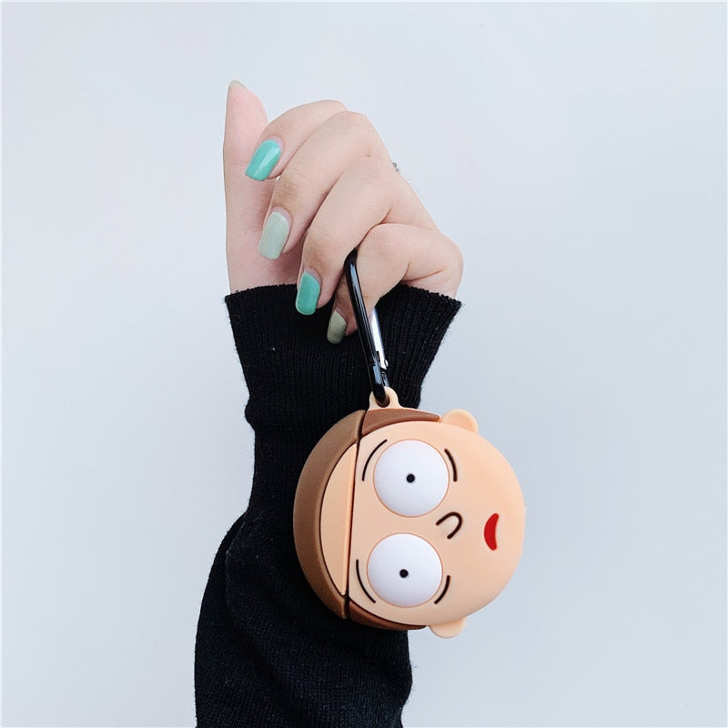 Rick&Morty Airpods Case
