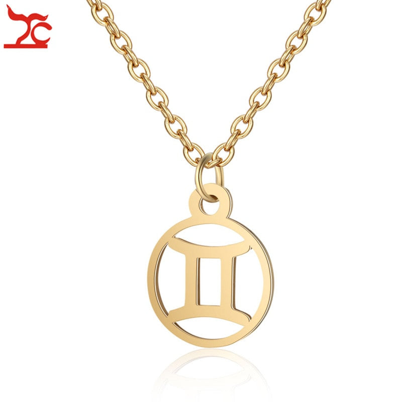 Astrology Zodiac Necklace