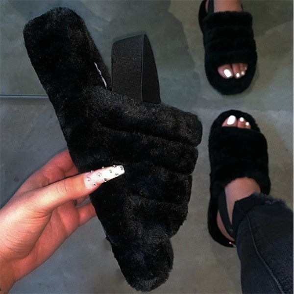 Cake Cotton Slippers