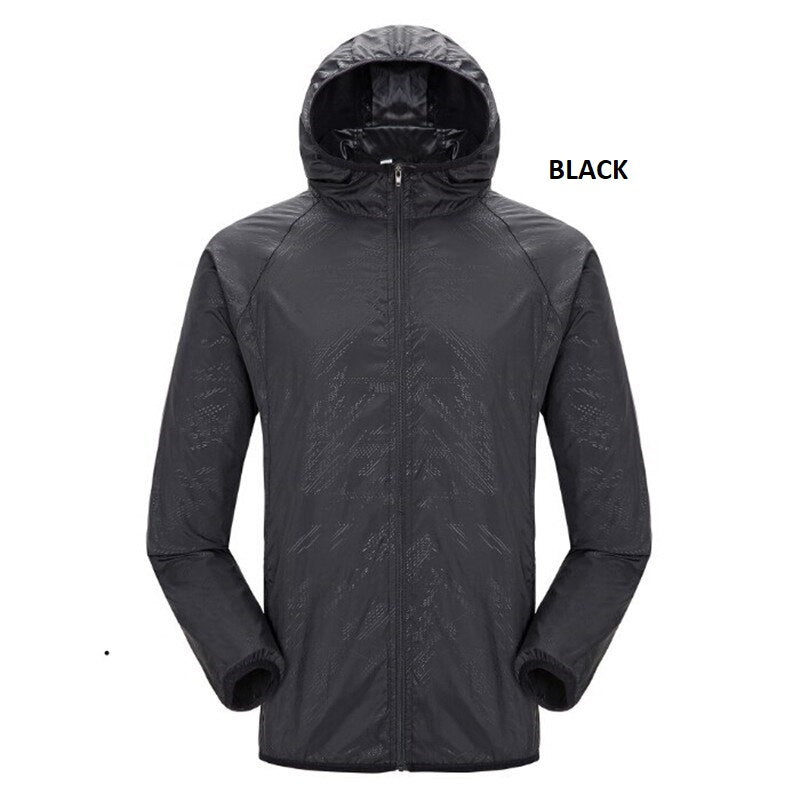 Quick-dry Unisex Windproof Hiking Jacket