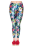Push Up Flowers Fitness Leggings