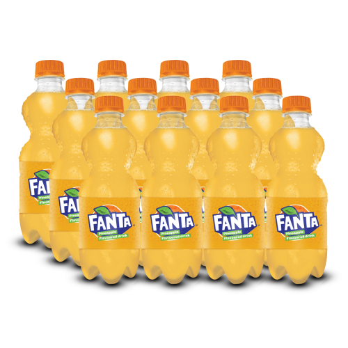 Fanta Pineapple - 300ml PET (Pack of 12)