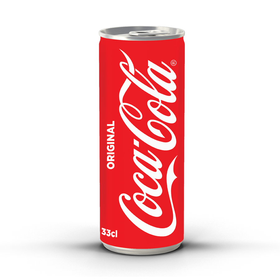 Coca-Cola Original - 330ml Sleek Can (Pack of 24)