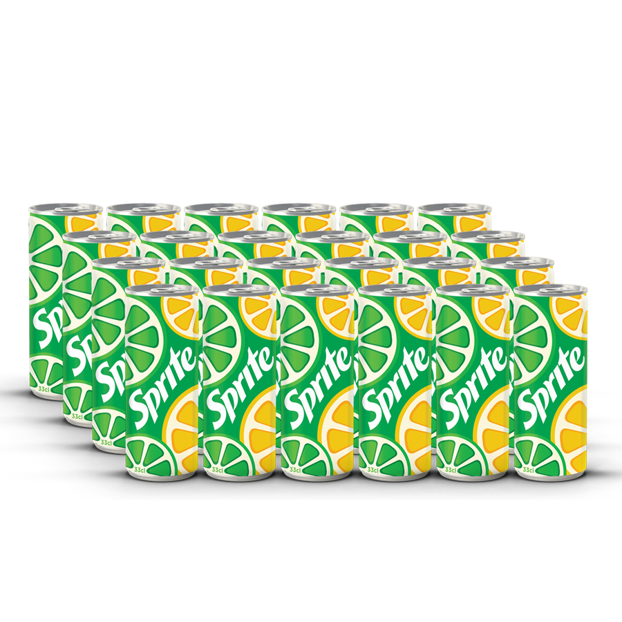 Sprite - 330ml Sleek Can (Pack of 24)