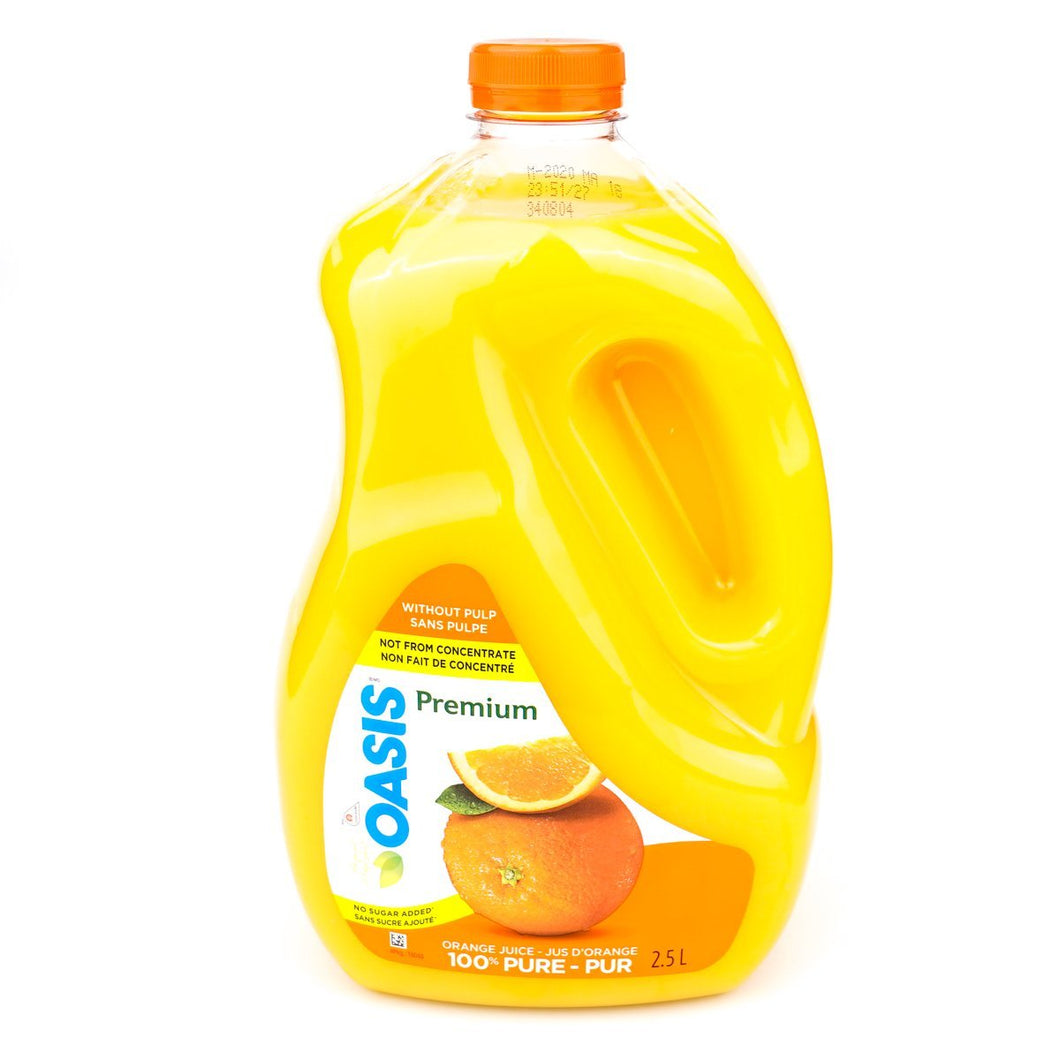 Oasis Premium 100% Pure Orange Juice No Pulp