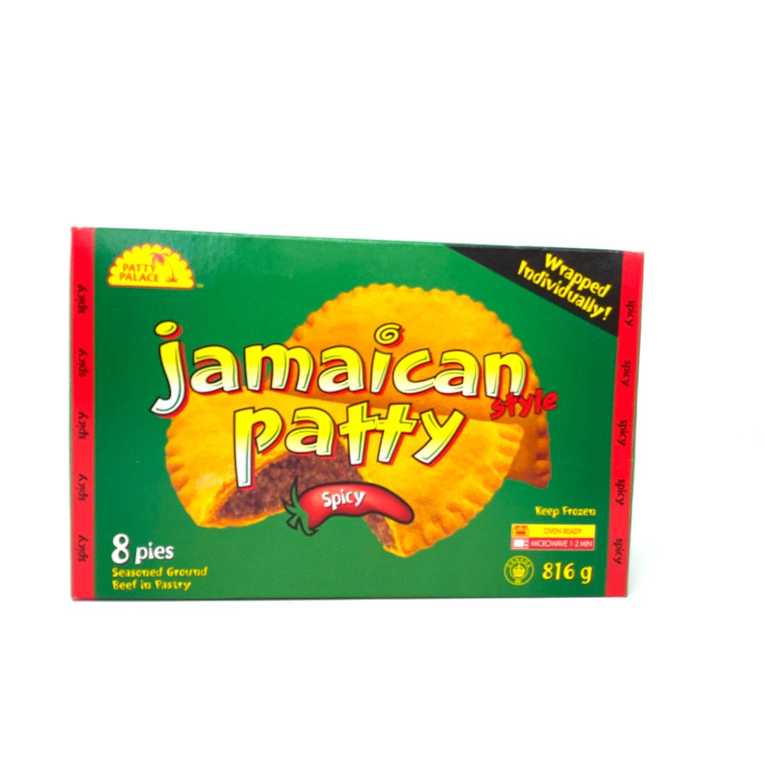 JAMAICAN BEEF PATTY SPICY