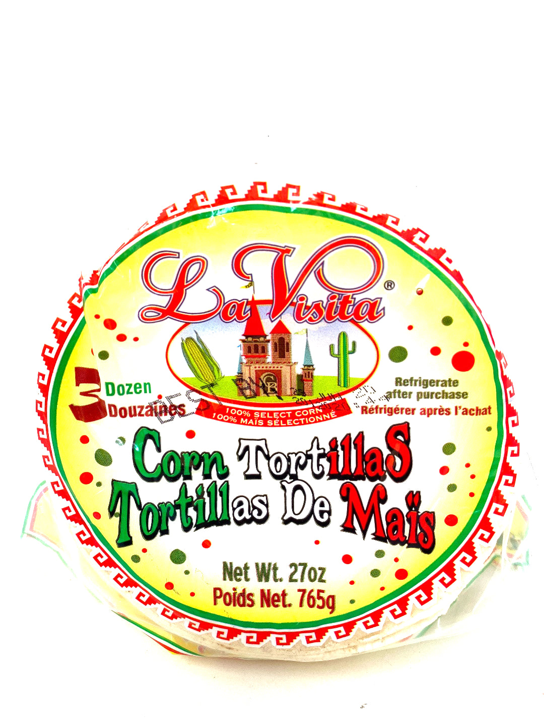 La Visita Corn Tortillas