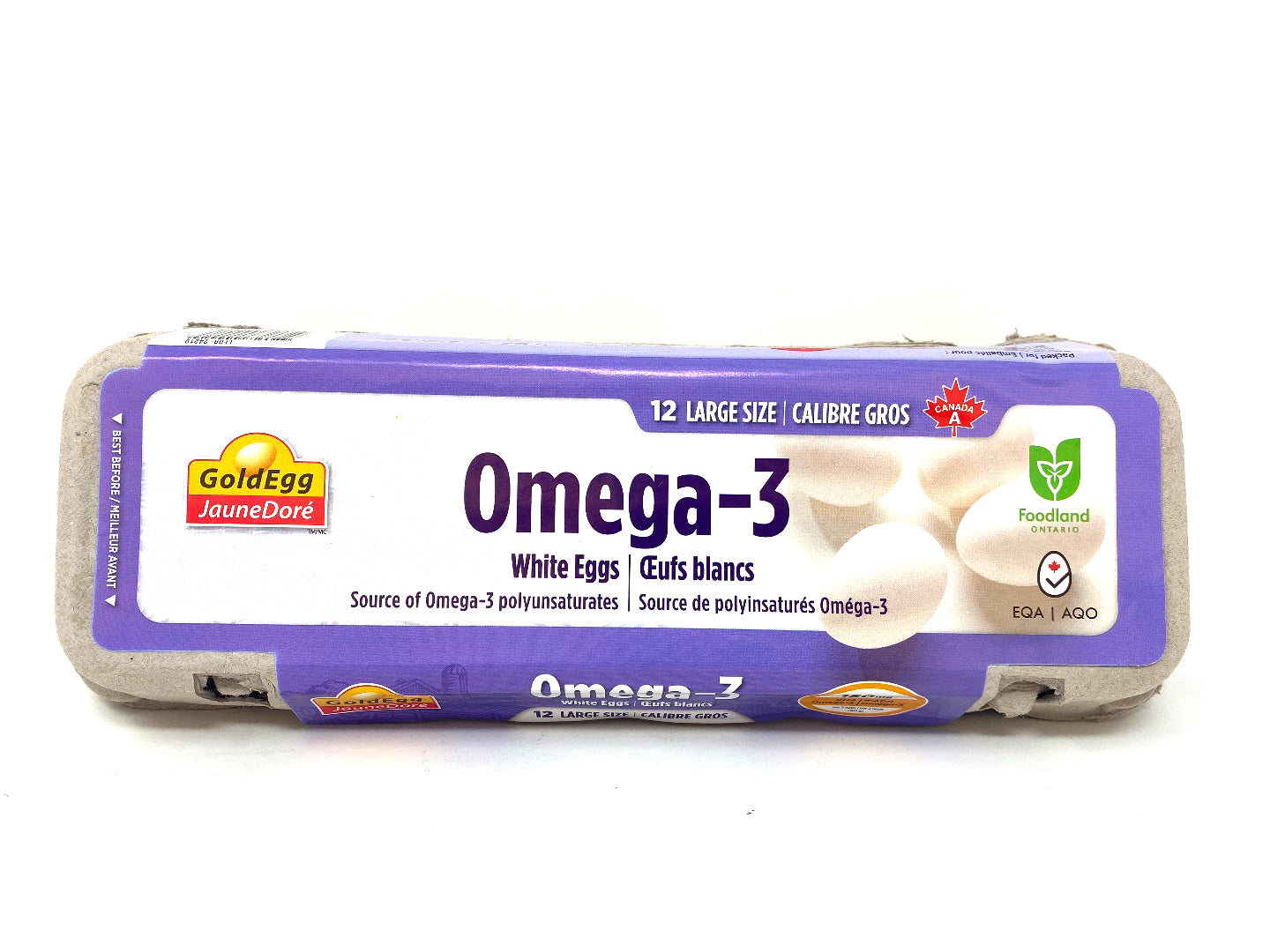 Gold Egg Omega-3 White Eggs