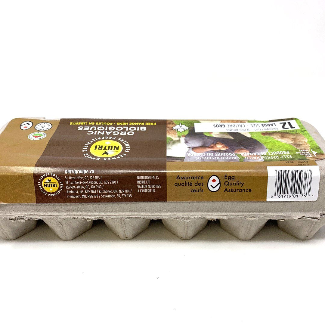 Nutri Organics Large eggs