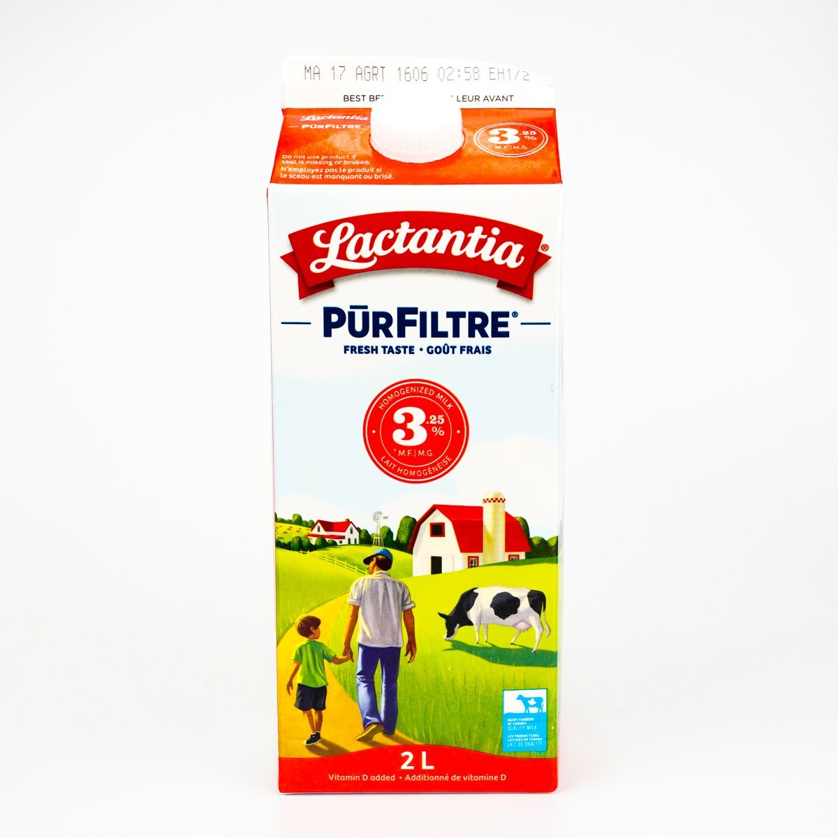 Lactantia 3.25%Homogenized Milk