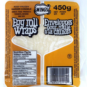 Wing`s Egg Roll Wraps
