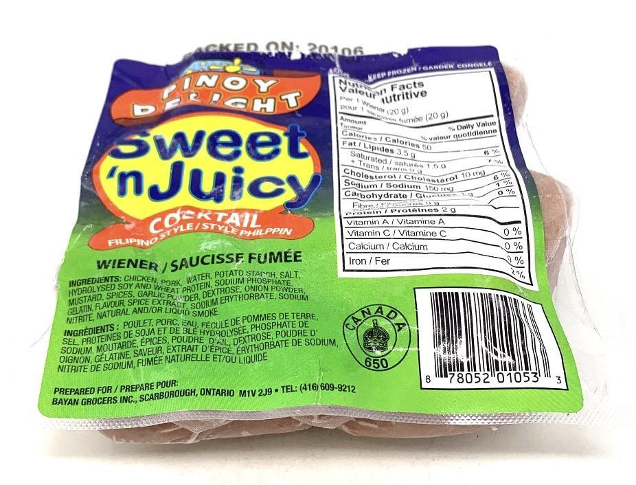 Pinoy Delight Sweet Juicy (Cocktail) 450 G