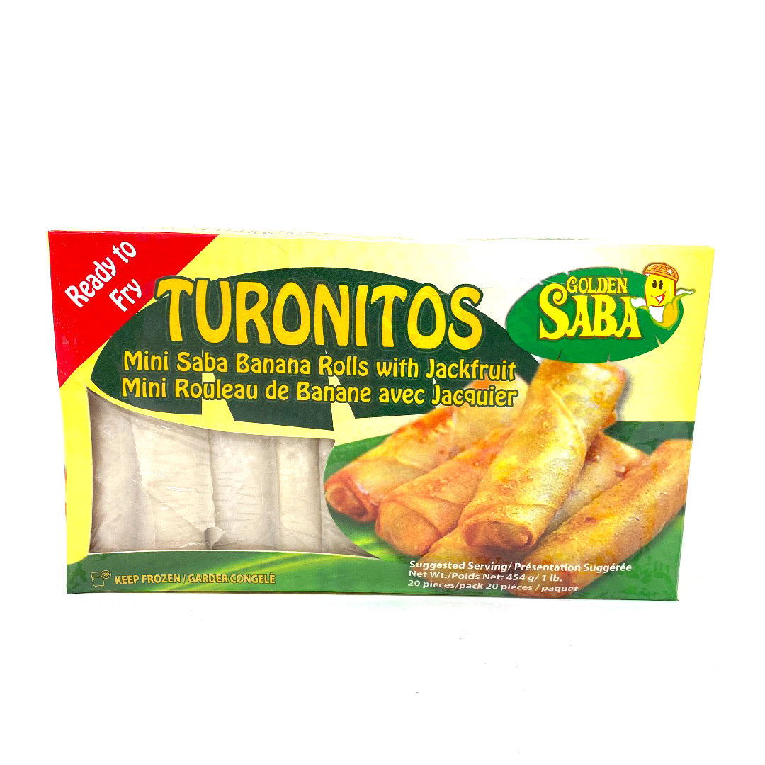 Golden Saba Turon (Banana Roll)
