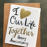 Anniversary - Our Life Together