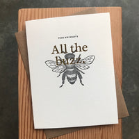 Birthday - All the buzz
