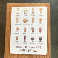 Birthday - Lager than life