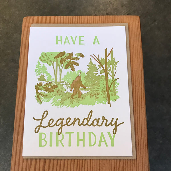 Birthday - Legendary