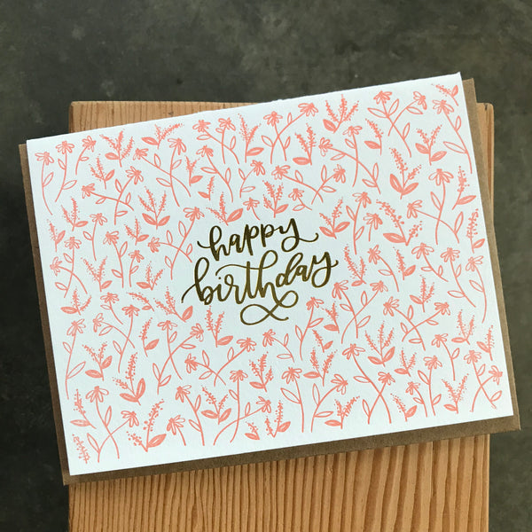 Birthday - Tiny Floral