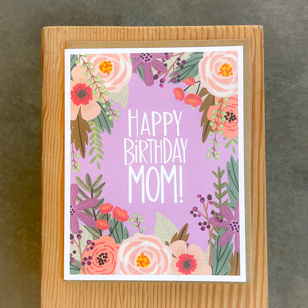 Birthday - Floral Mom