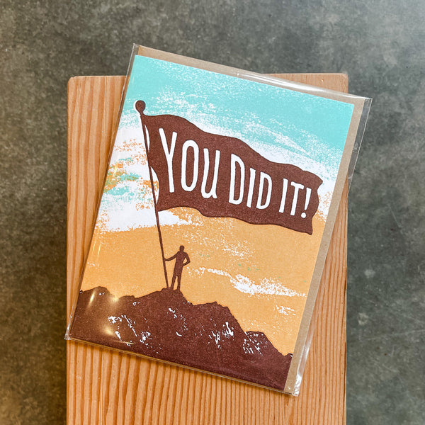 Congratulations - You Did It/Mountain