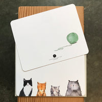 Cat's Meow Correspondence Card Set