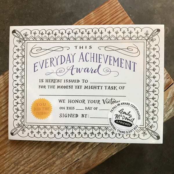 Everyday Achievement Pad
