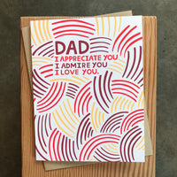Father's Day - I appreciate you