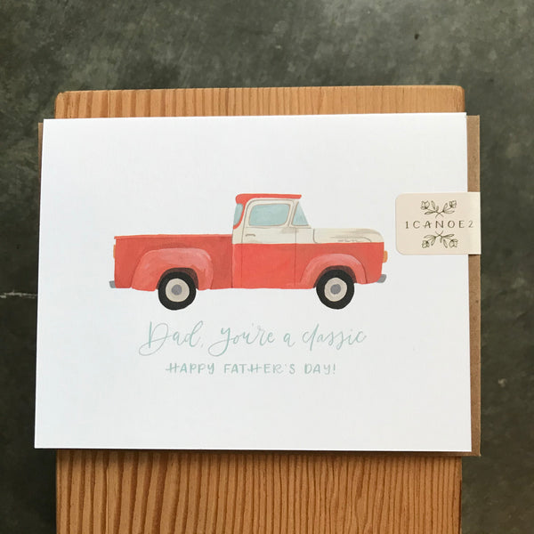 Father's Day - Classic Truck