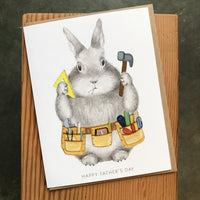 Father's Day - Tool Belt Bunny