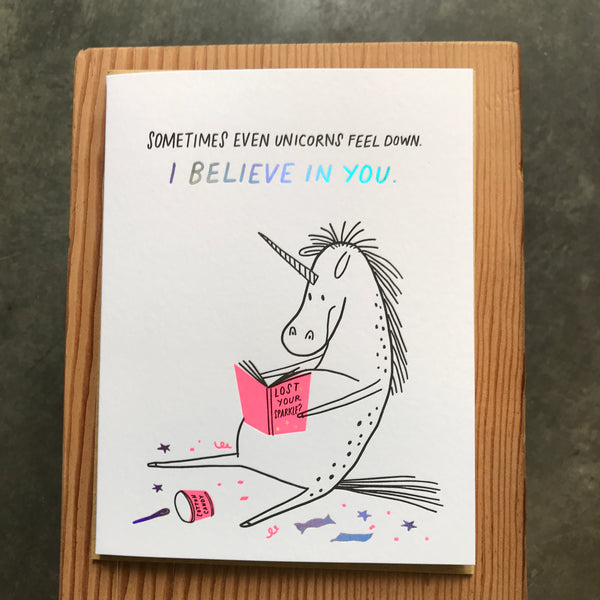 Friendship - Even Unicorns Feel Down