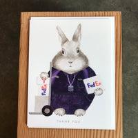 Thank You - FedEx Bunny