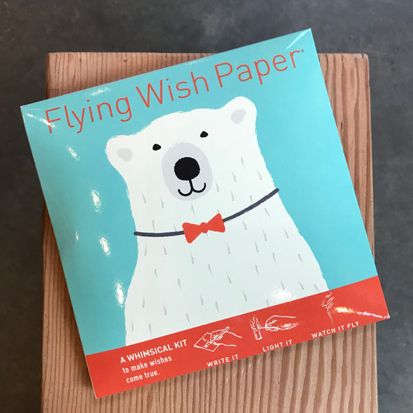 Flying Wish Paper - Polar Bear