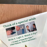 Flying Wish Paper - Candles