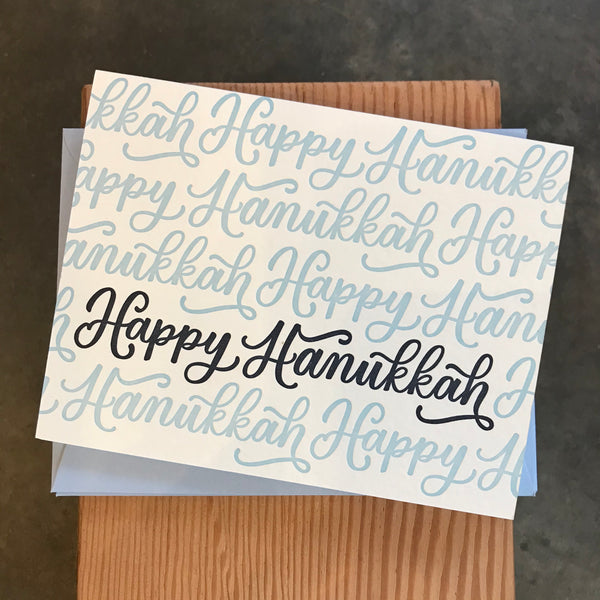 Hanukkah - Boxed Happy Hanukkah Script