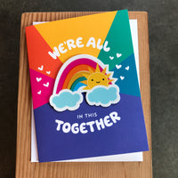 Friendship - In this together/Rainbow sticker
