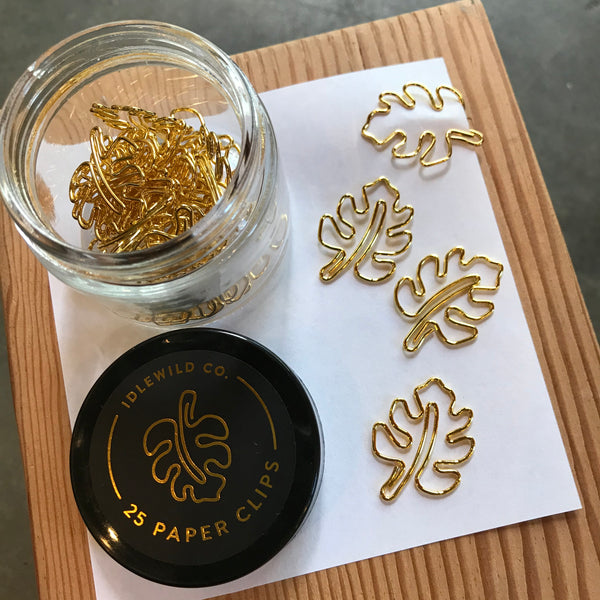 Monstera Paper Clips