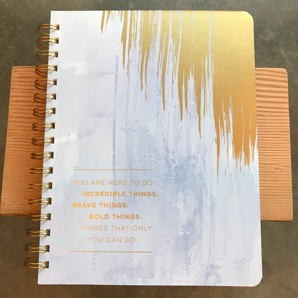 Incredible Things Wire-O Journal