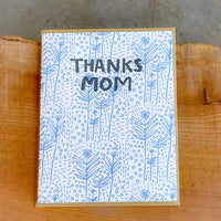 Mother's Day - Blue Wildflowers