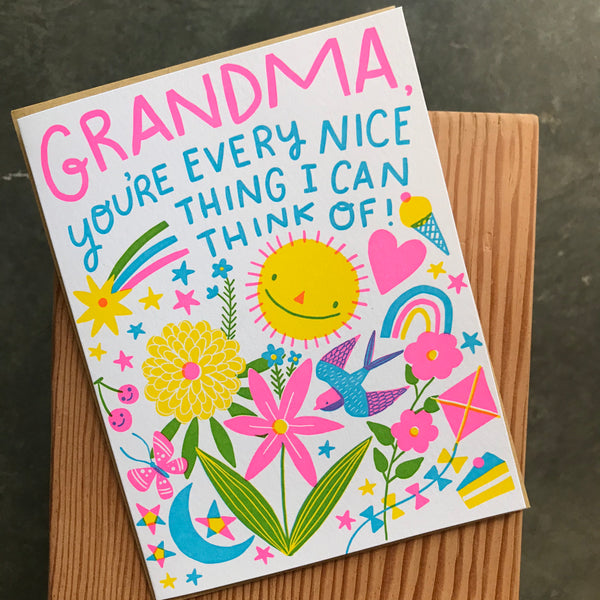 Mother's Day - Grandma Everything Nice