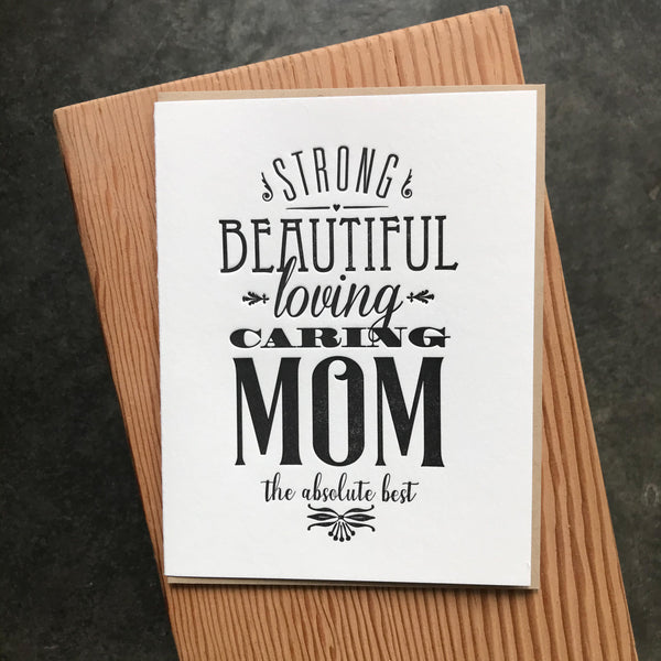 Mother's Day - Loving Caring Mom