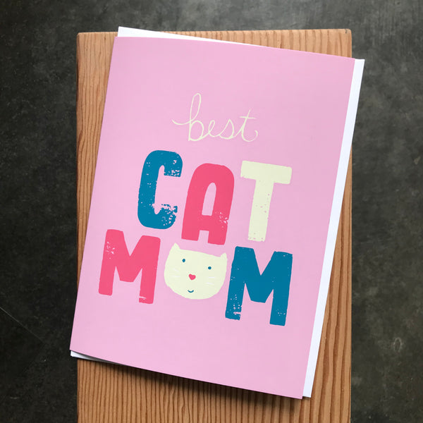 Mother's Day Cat Mom