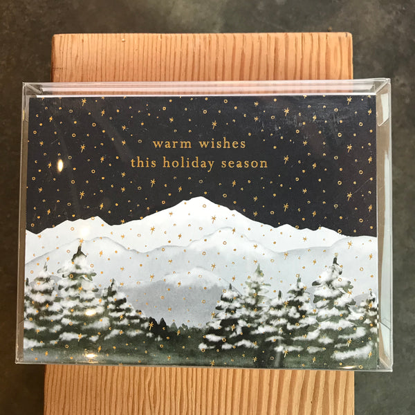 Mountains Warm Wishes Boxed