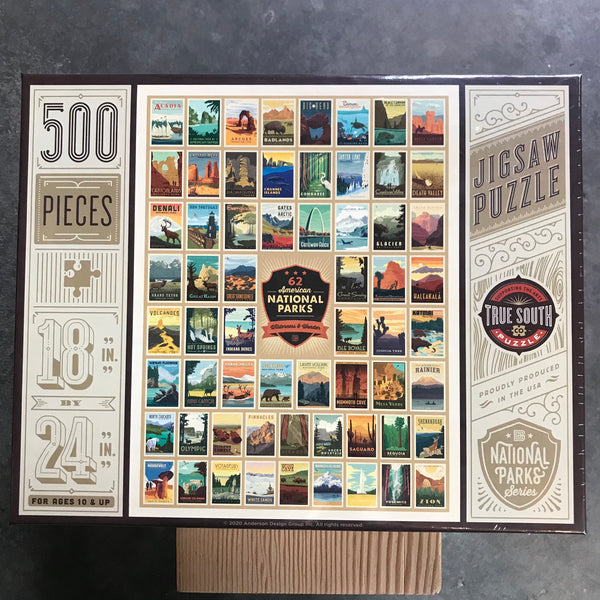 National Parks Wilderness and Wonder Puzzle