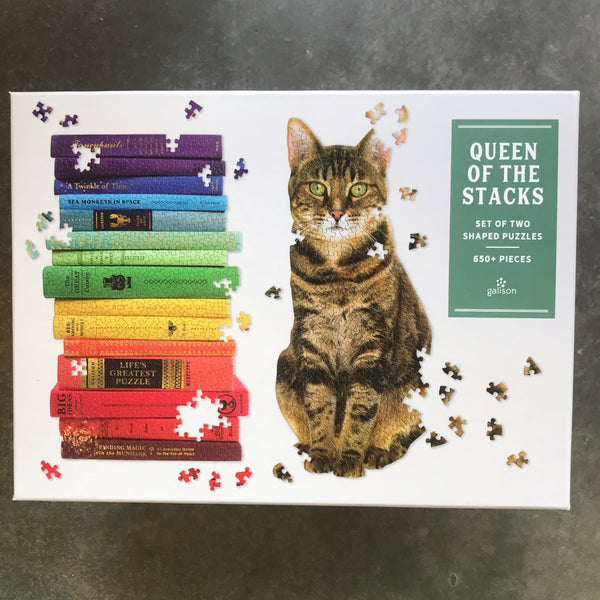 Queen of the Stacks Puzzle