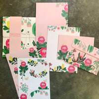King Protea Writing Paper Set