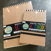 White Paper Sketchbooks