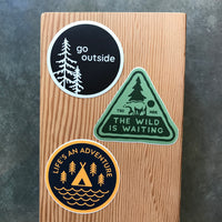 Adventure Outdoors Vinyl Stickers