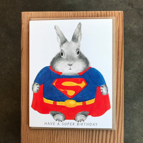 Birthday - Super Bunny