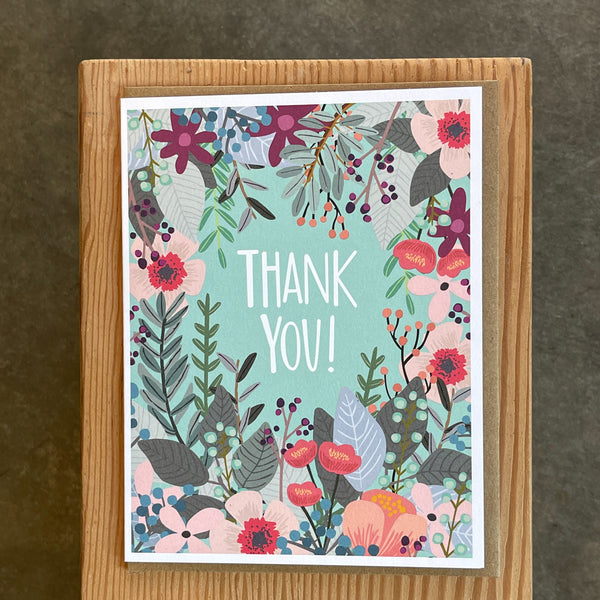 Thank You - Floral