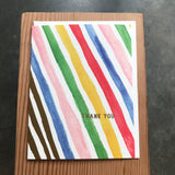 Thank You - Summer Stripe